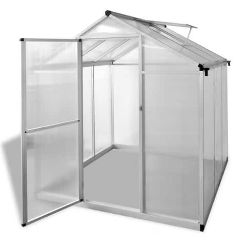 vidaXL Greenhouse Reinforced Aluminium 37.2ft²