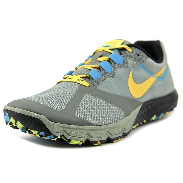 Nike Zoom Wildhorse 2 Men Round Toe Synthetic Gray Running Shoe