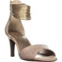 Aerosoles Glamour Girl Heeled Sandals, Bone Combo - 6.5 us