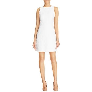 MICHAEL Michael Kors Womens Casual Dress Jacquard Textured