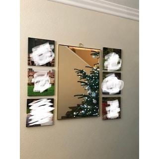 Mendavia Framed Rectangular Wall Mirror
