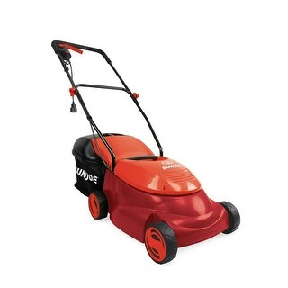 Snow Joe 14 in. 13A Electric Lawn Mower Side Discharge Chute, Red