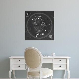 Easy Art Prints Sara Zieve Miller's 'Night Sky Gemini' Premium Canvas Art