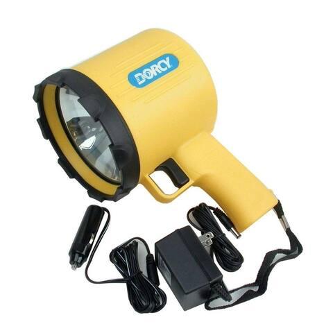 Dorcy 41-1097 Rechargeable Pistol Grip Spotlight With Charging Adaptors