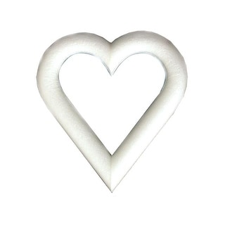 "Floracraft Heart Extruded Bulk 9x1"""