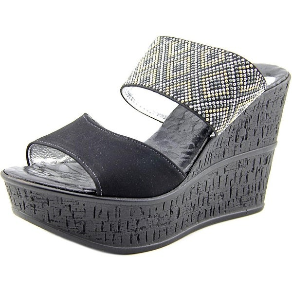 Love and Liberty Sylvie Women  Open Toe Canvas  Wedge Sandal