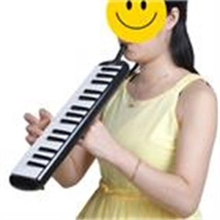 Link to Glarry 32-Key Melodica with Mouthpiece & Hose & Bag Black Similar Items in Woodwind Instruments