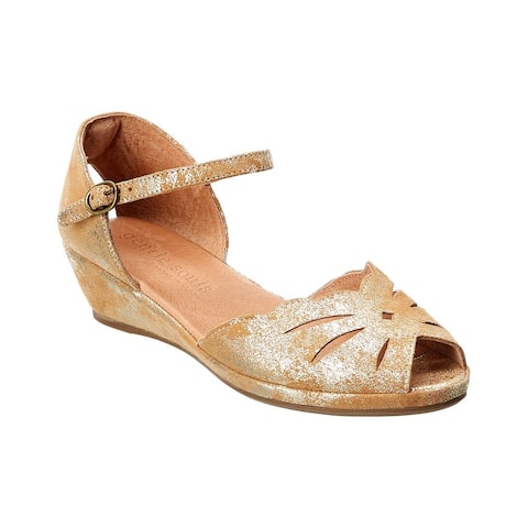 Gentle Souls By Kenneth Cole Lily Moon Suede Sandal