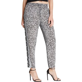 French Connection Womens Casual Pants Jacquard Ankle