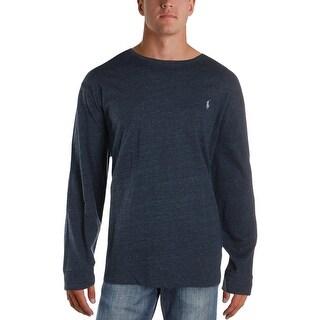 Polo Ralph Lauren Mens T-Shirt Heathered Long Sleeves - XXL