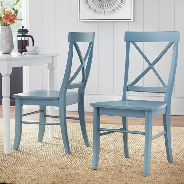 Simple Living Albury Dining Chairs (Set of 2). Opens flyout.
