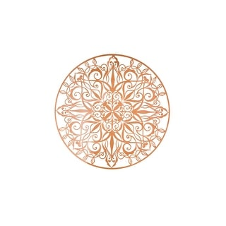 "Graham and Brown 104036  Copper Luxe 32"" x 32"" Abstract Wall Art"