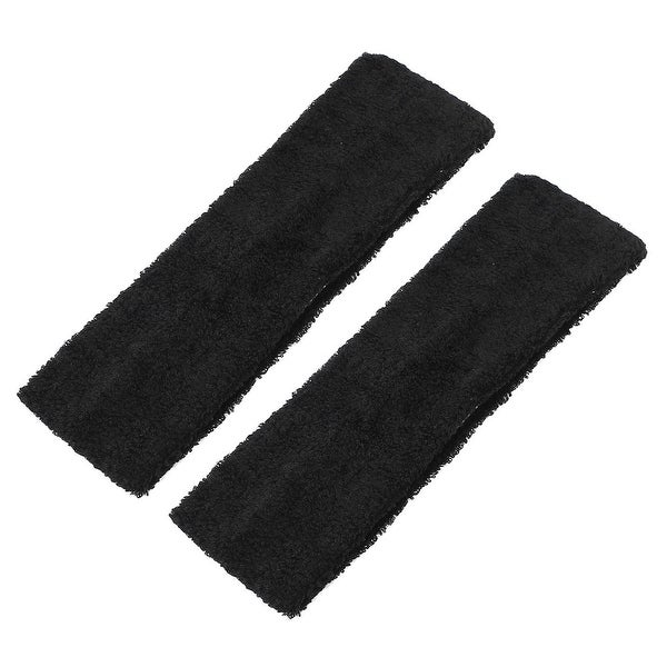 Women's Hair Accessories Just 2 Pcs Black Plastic Frame Dual Row Teeth Hair Hoop Head Band For Girls