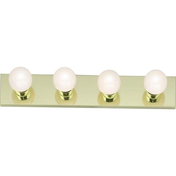 "Nuvo Lighting 77/189 Four Light 24"" Bathroom Bar Light - Gold"