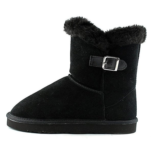 Style & Co. Womens Tiny 2 Leather Closed Toe Ankle Cold Weather Boots