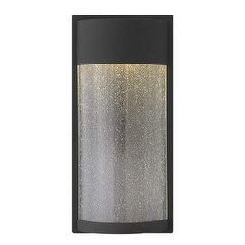 "Hinkley Lighting 1344 1 Light ADA Compliant 18"" Tall LED Flush Mount Dark Sky Wall Sconce with Frosted Glass Shade from the"