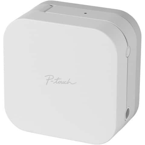 Brother international corporat ptp-300bt smartphone dedicated label maker with bluetooth wireless technology - White