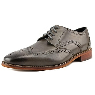 Florsheim Castellano Men 3E Round Toe Leather Gray Oxford