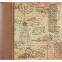 "Mbi Postmark Travel Post Bound Album 12""X12""-"