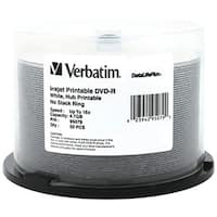 Verbatim 95079 4.7Gb Datalifeplus(R) Dvd-Rs, 50-Ct Spindle
