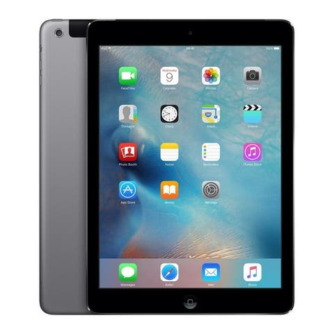 "Apple Ipad Air with Wi-Fi 9.7"" Retina Display - 16GB - Space Grey - Silver (Refurbished)"
