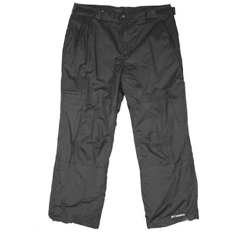 Columbia Mens Activewear Gray Size 2XL Insulated Fleece Snow Gun Pants