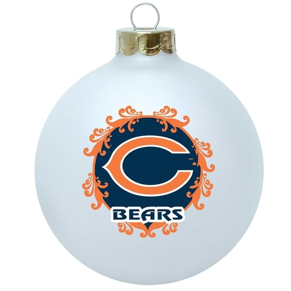 Chicago Bears 3 1/4'' Collectible Christmas Tree Ornament (2012 design)