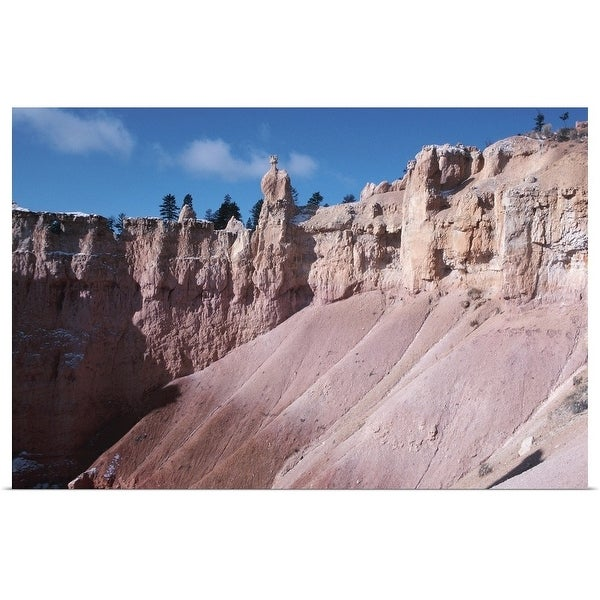 """""""Rock formations , North America"""" Poster Print"""