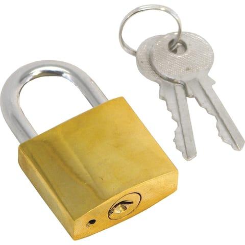 Shoreline marine sl52168 padlock 1-1/4 brass