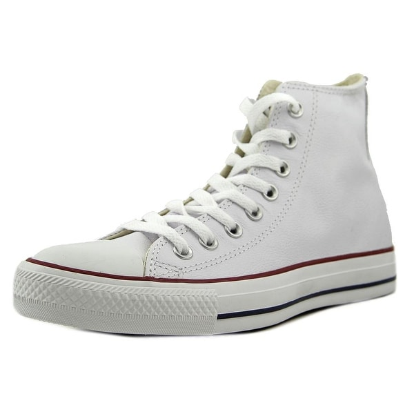 2c65d20b73f1 Shop Converse Chuck Taylor Hi Round Toe Leather Sneakers - Free ...