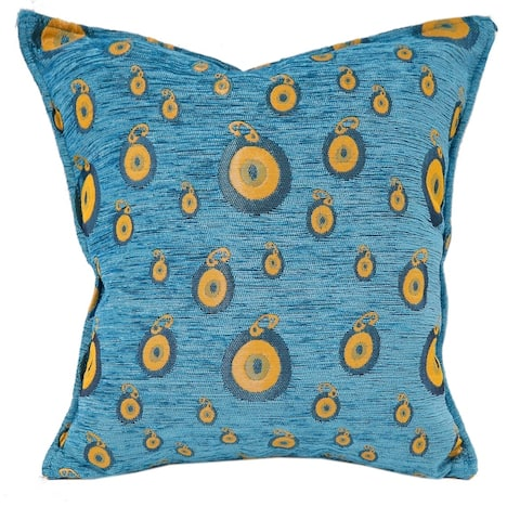 Starry Night Glory Chenille Decorative Turkish Pillow