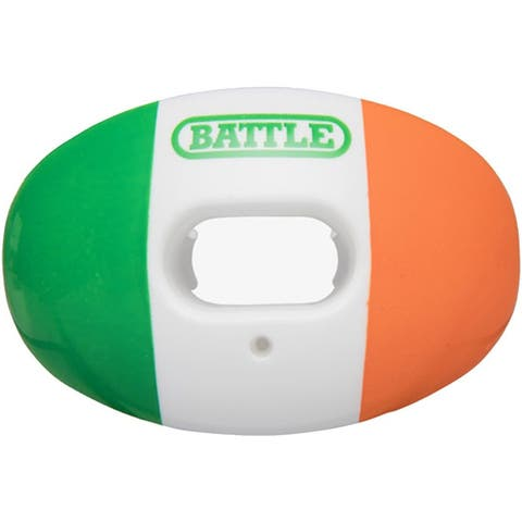 Battle Sports Science Oxygen Lip Protector Mouthguard - Irish Flag - One Size