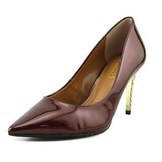 J. Renee Maressa Women W Pointed Toe Synthetic Burgundy Heels
