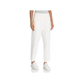Rag & Bone Womens Lounge Pants Frayed Cuff Scout Crop