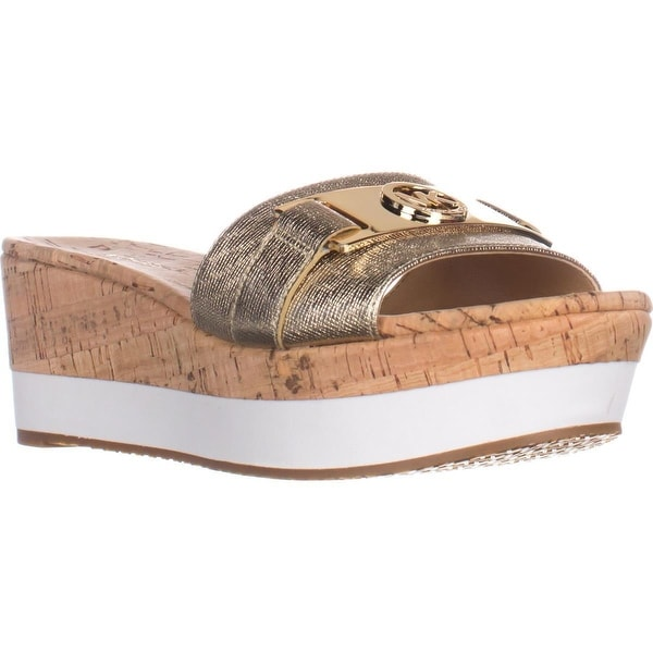 bfec168b8f8 Shop MICHAEL Michael Kors Warren Platform Slide Sandals