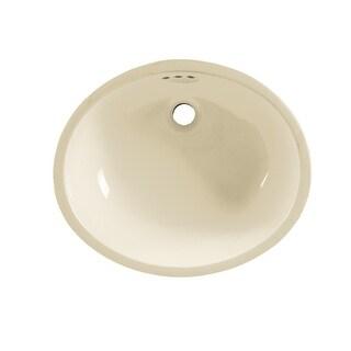 "American Standard 9482.000  Ovalyn 16-3/4"" Undermount Porcelain Bathroom Sink"
