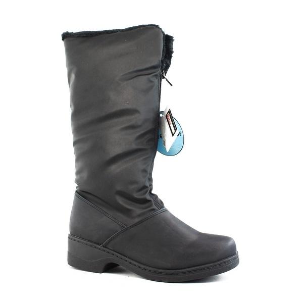 Tundra Womens Alice Black Snow Boots Size 5