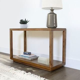 Link to Abbyson Chevron Wood Console Table Similar Items in Living Room Furniture