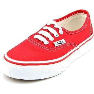 Vans Authentic Round Toe Synthetic Sneakers