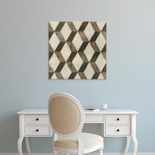Easy Art Prints June Erica Vess's 'Driftwood Geometry I' Premium Canvas Art