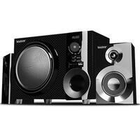 Wireless Bluetooth 30 watt Speaker System with FM Radio