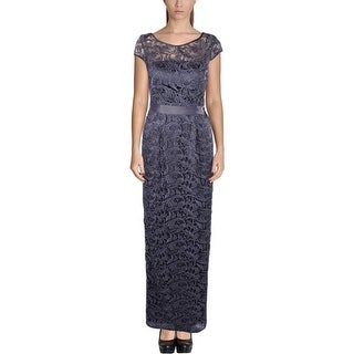Adrianna Papell Womens Evening Dress Lace Lined - 2