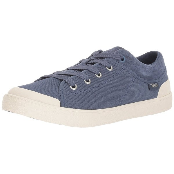 Teva Womens Free Wheel Fabric Low Top Lace Up Fashion Sneakers