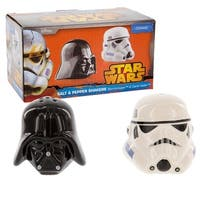 Star Wars Salt & Pepper Shakers Darth Vader & Stormtrooper - Multi
