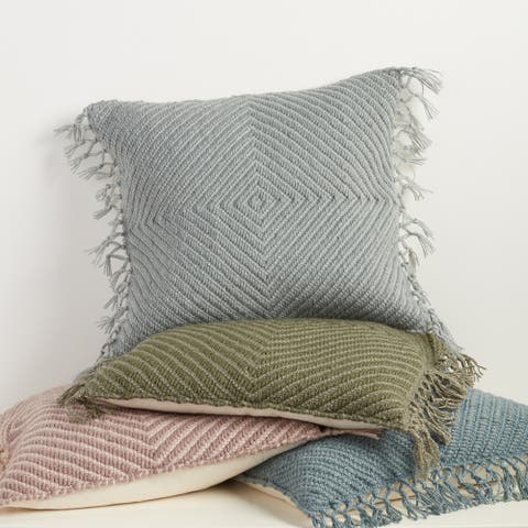 Calhain Geometric Indoor/ Outdoor Pillow