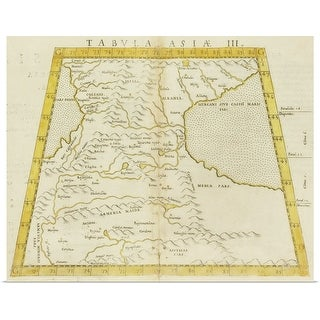 """Antique map of Armenia"" Poster Print"