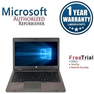 Refurbished HP ProBook 6465B 14.0'' Laptop AMD A4-3310MX 2.1G 4G DDR3 500G DVD Win 7 Pro 64-bit 1 Year Warranty - Black