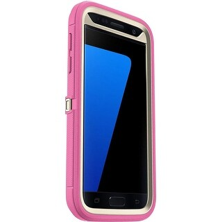 OtterBox Defender Series Case  (NO Clip) for Samsung Galaxy S7 - Non-Retail Packaging - Berries Sand Pink - Sand/Hibiscus Pink