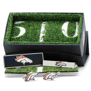 Denver Broncos 3-Piece Gift Set - navy