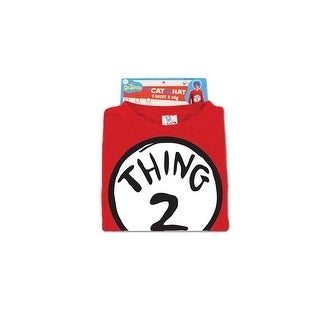 Dr. Seuss Thing 2 Costume Shirt Adult